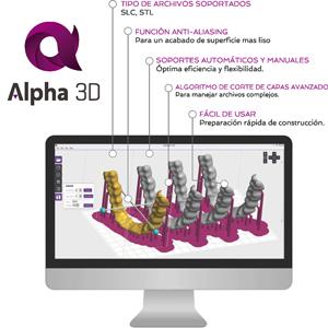 Alpha-3D_Caracteristicas