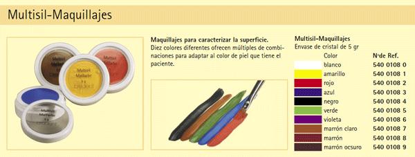 MaquillajesMultisil-colores
